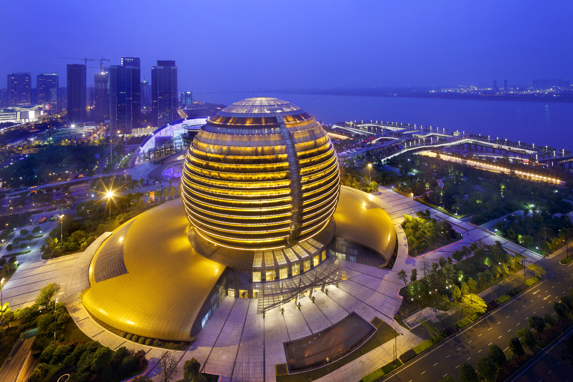 Hangzhou International Conference Center/Intercontinental Hotel