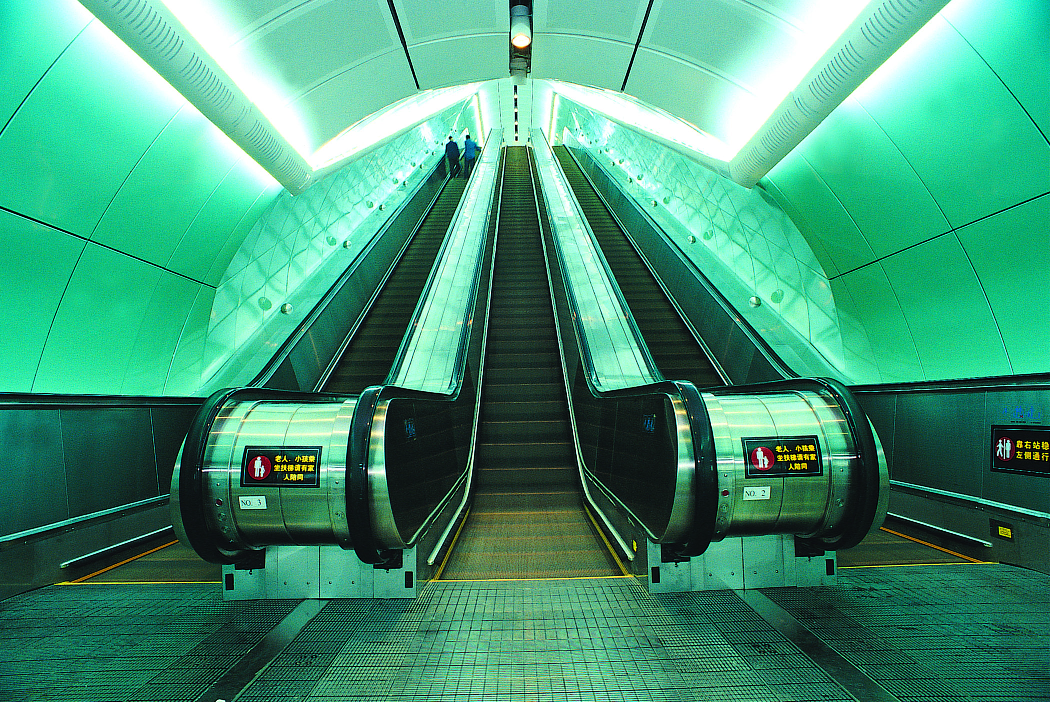 Hitachi Elevator wins bid to supply escalators and escalators to Guangzhou Metro Line 7's western extension to Shunde